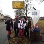 Männerweiler statt Frauenweiler - ein Teil unserer Truppe